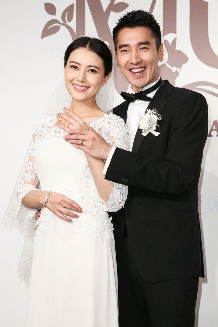 高圓圓(左)和趙又廷結婚4年多卻遲遲沒有孩子。 圖/聯合報系資料照
