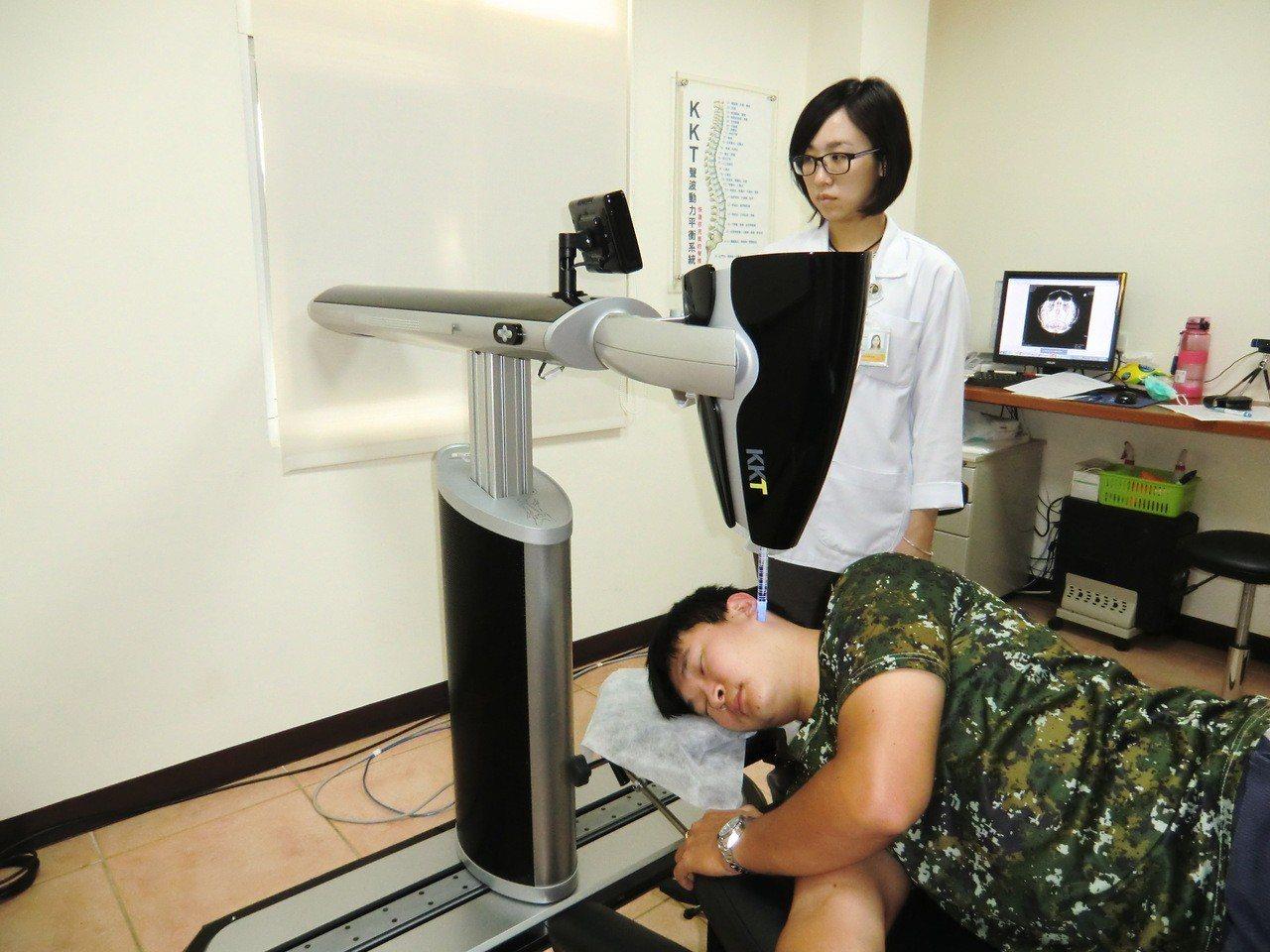 KKT聲波動力平衡系統以聲波矯正脊椎,療程中不痛,非侵入式的,不需住院,不用手術...
