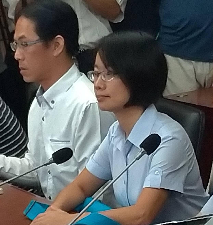 吳音寧因仍拒到議會備詢,周二的委員會工作報告遭議員砲轟要求離場。記者莊琇閔/攝影