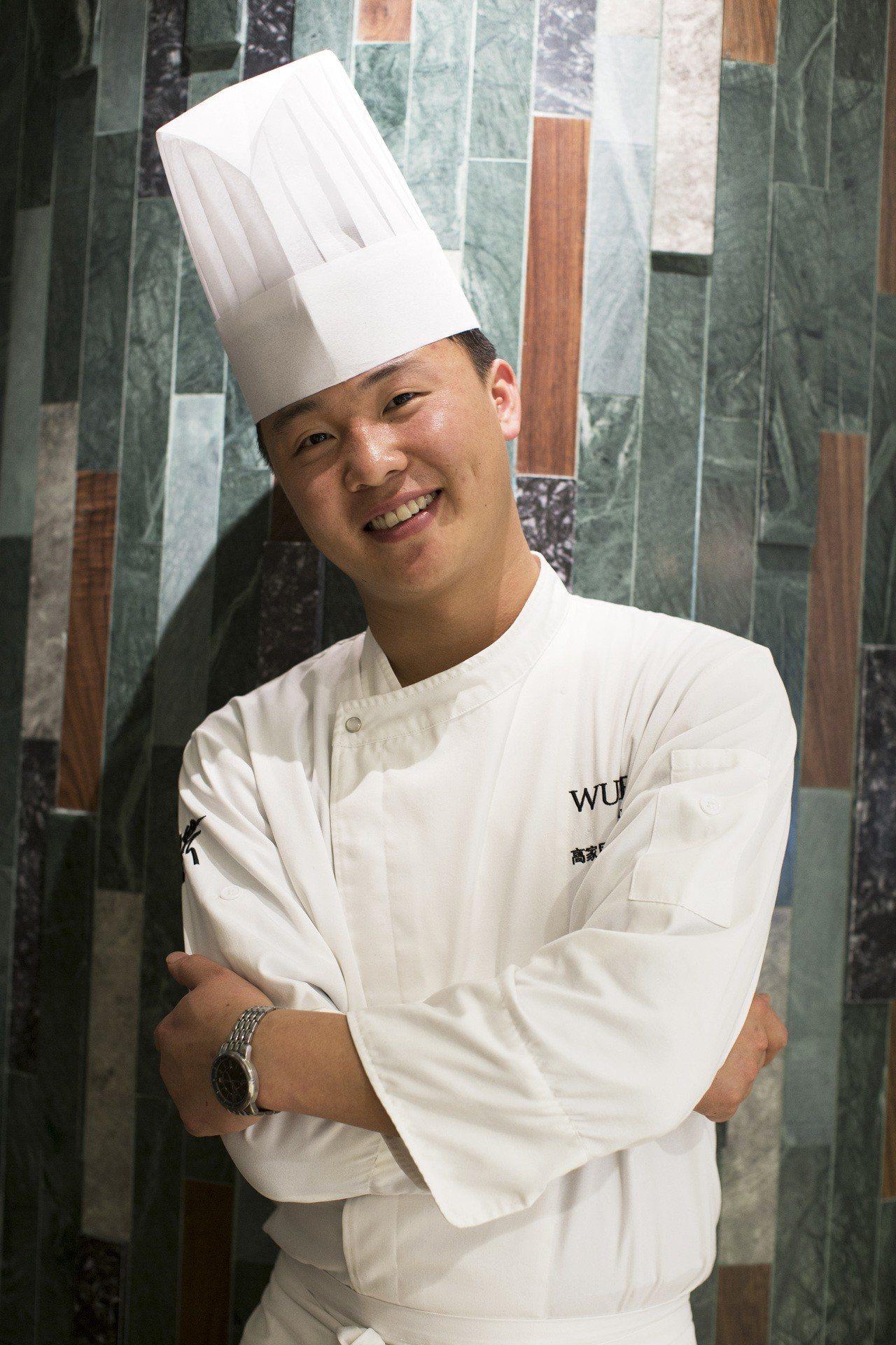上海米其林一星的蔬食餐廳大蔬無界主廚高家風。圖/蘭餐廳提供