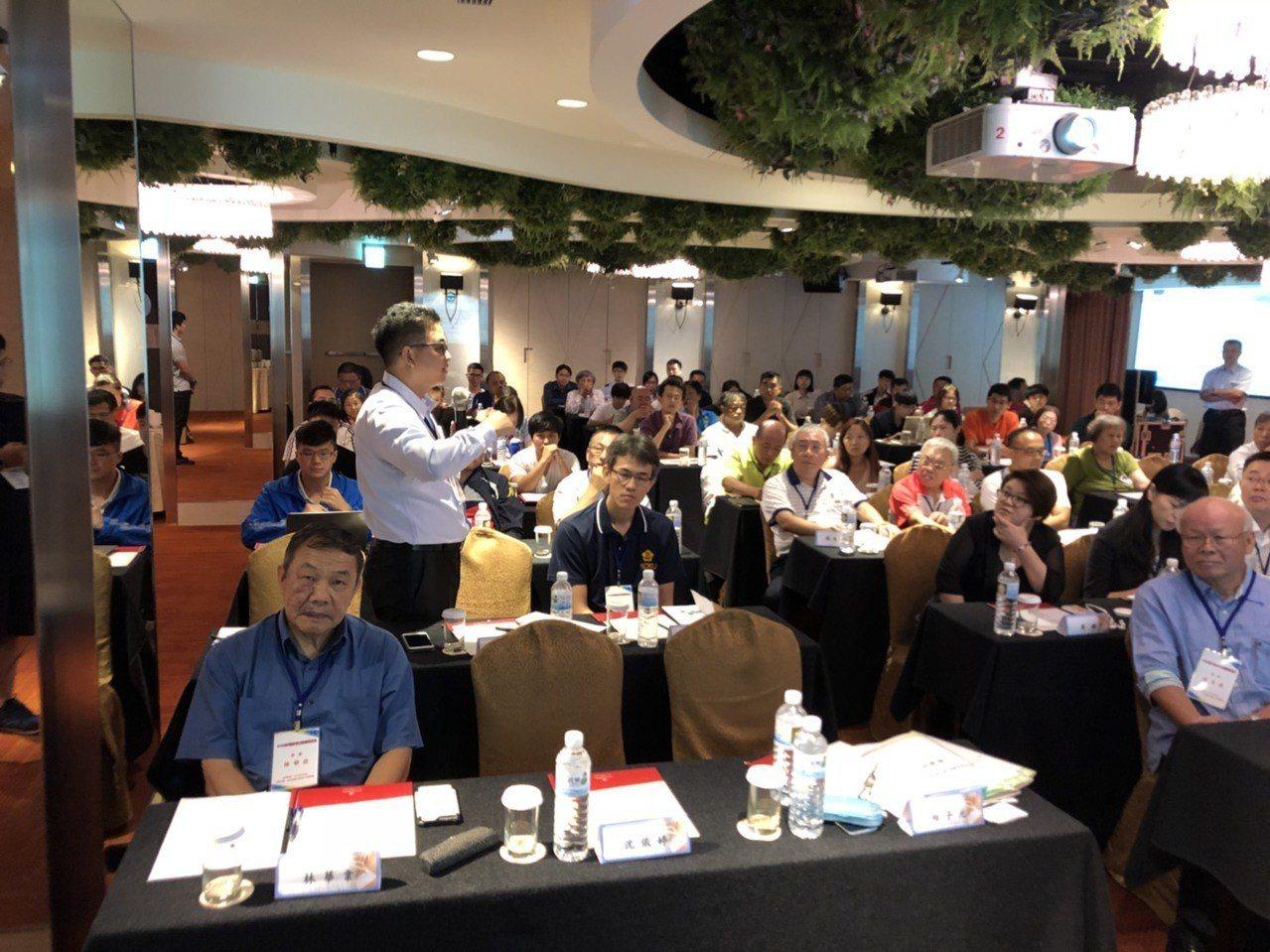 兩岸奧會舉行的運科及運醫研討會今天在台北登場。 圖/中華奧會提供