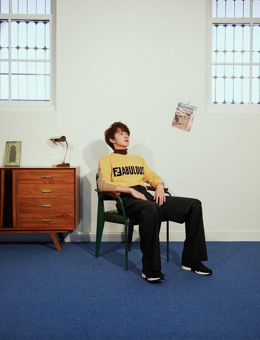官鴻在新版「流星花園」中飾演「花澤類」一角。圖/Bella儂儂