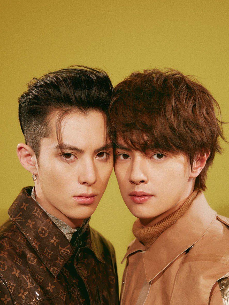 王鶴棣(左)、官鴻演出新版「流星花園」後爆紅。圖/Bella儂儂