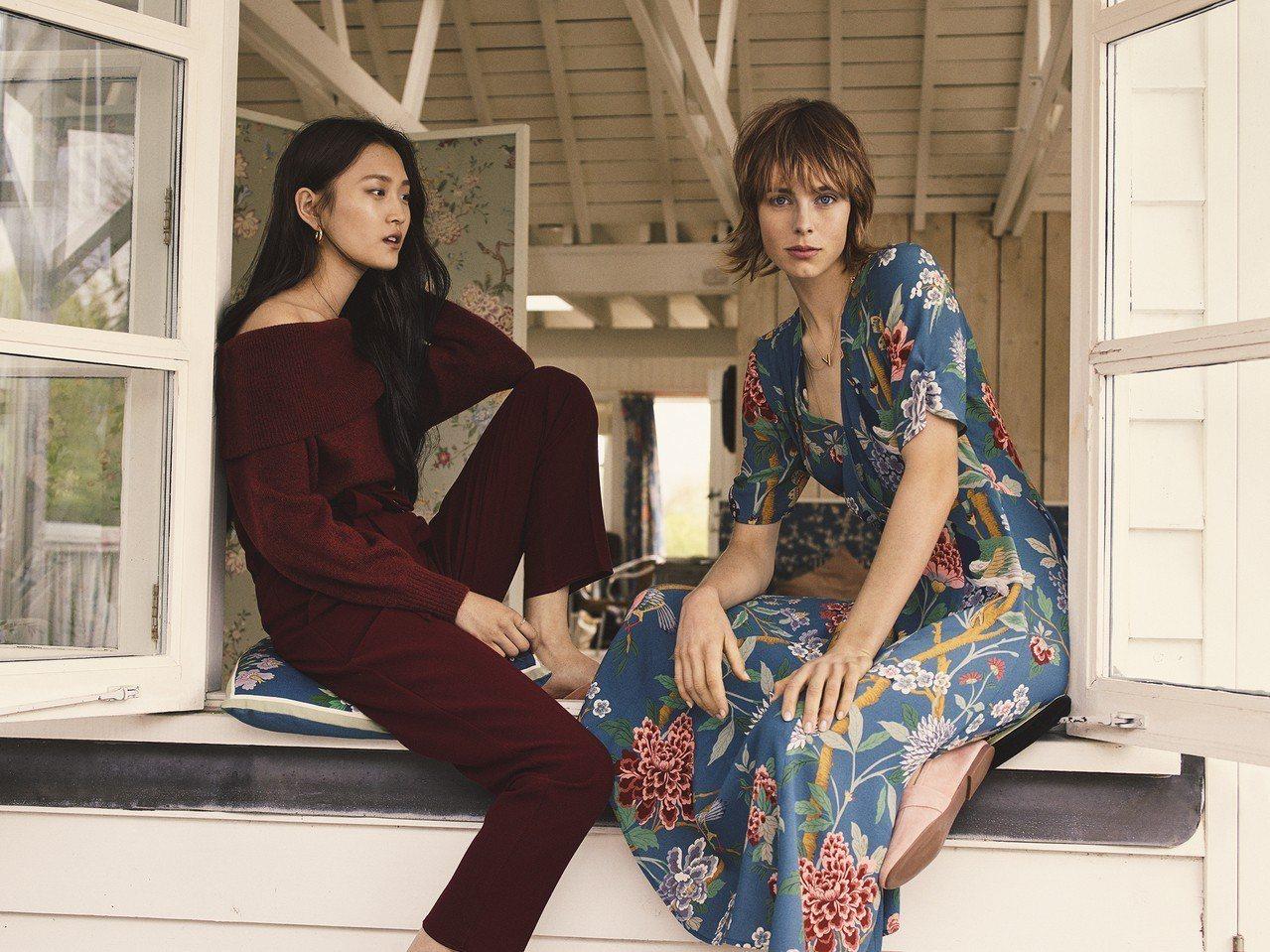百年英國壁紙及織品傢飾品牌GP & J BAKER與H&M跨界合作,在這一季推出...