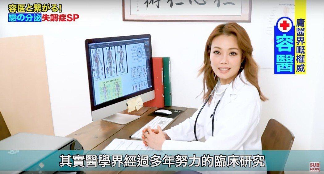 容祖兒(Joey)為廣東新歌「心之科學」拍攝趣味宣傳短片。圖/英皇娛樂提供