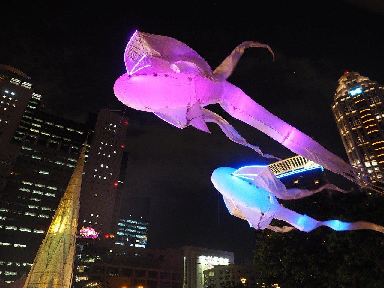 法國的「Les Luminéoles光之鳥」。圖/新北市文化局提供