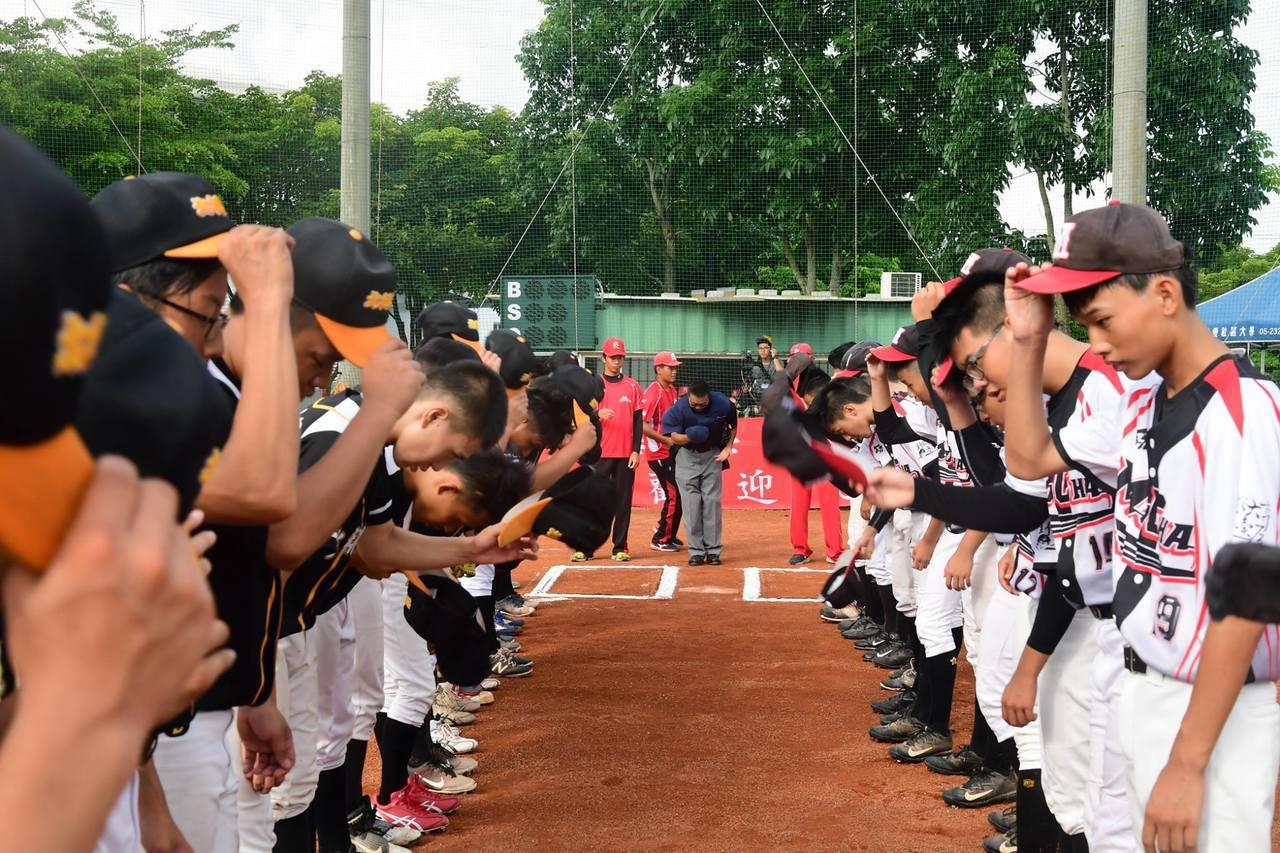 第二屆「三好南華盃高中乙組棒球邀請賽」今天開打。圖/取自三好體協粉絲團