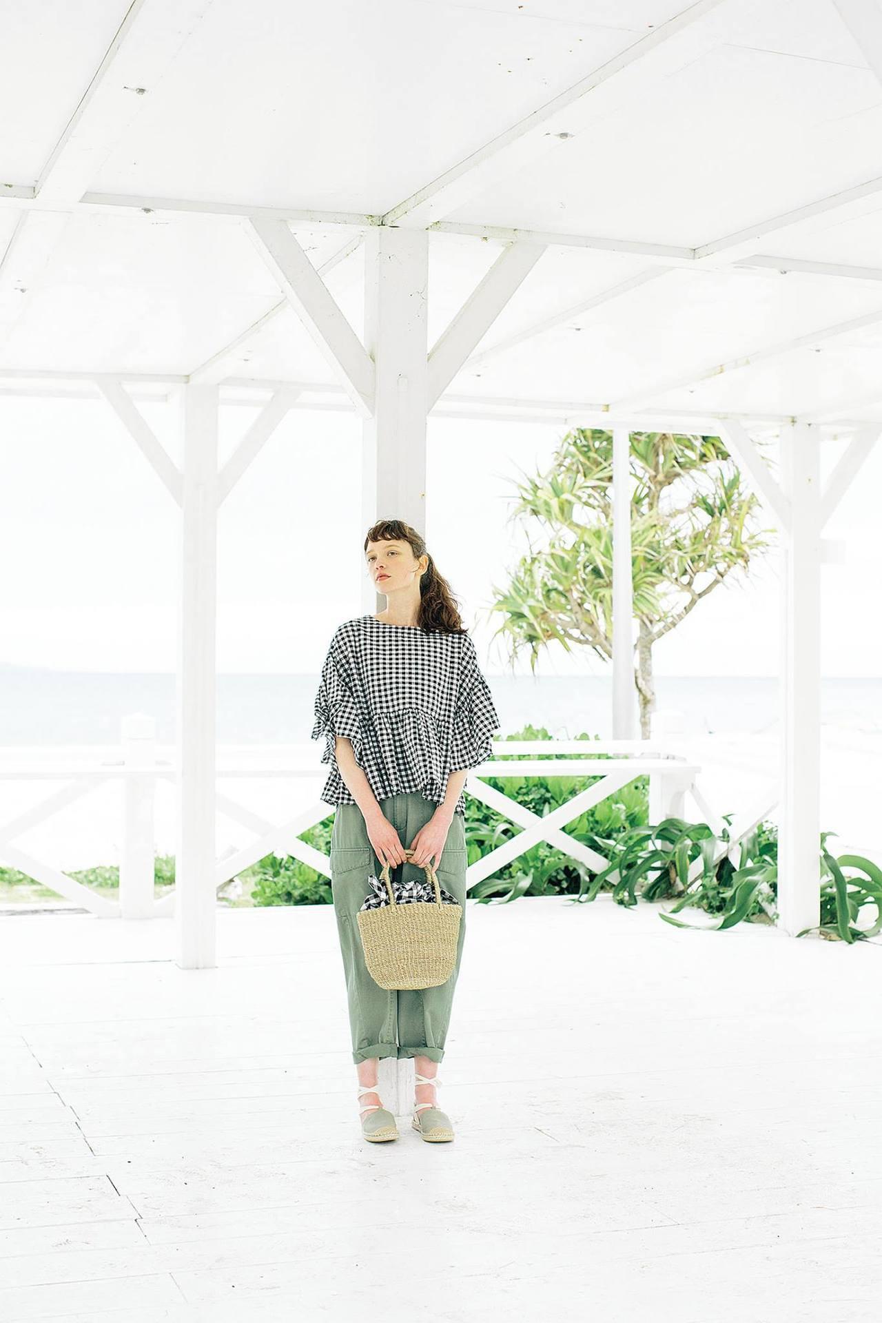 新光三越台北南西一館B1改裝,以質青選物店為概念,圖為日本自然系風格品牌SM2。...