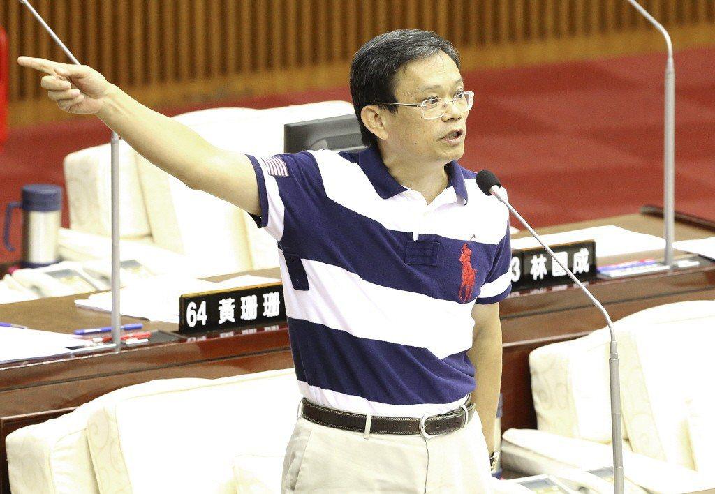 北市議員陳政忠。 圖/聯合報系資料照片
