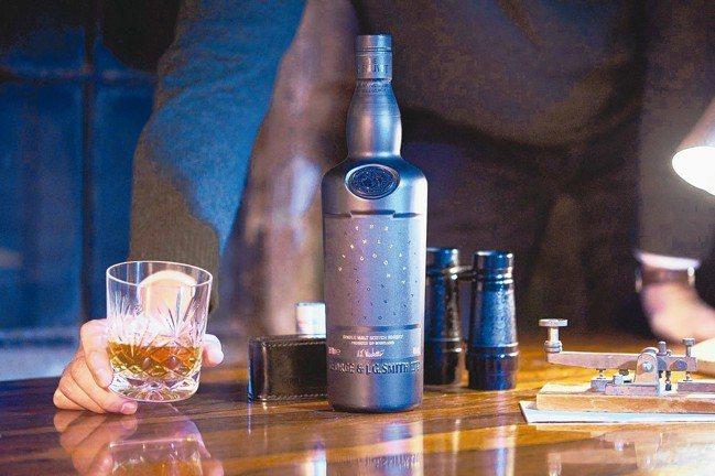 格蘭利威CODE單一麥芽蘇格蘭威士忌。 圖/台灣保樂力加提供