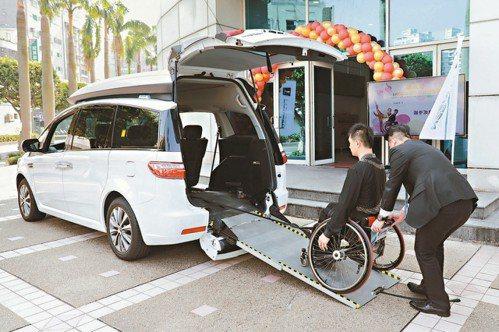 裕隆納智捷打造福祉車,專攻輪椅族及行動不便的長者或身障人士等市場。 裕隆/提供