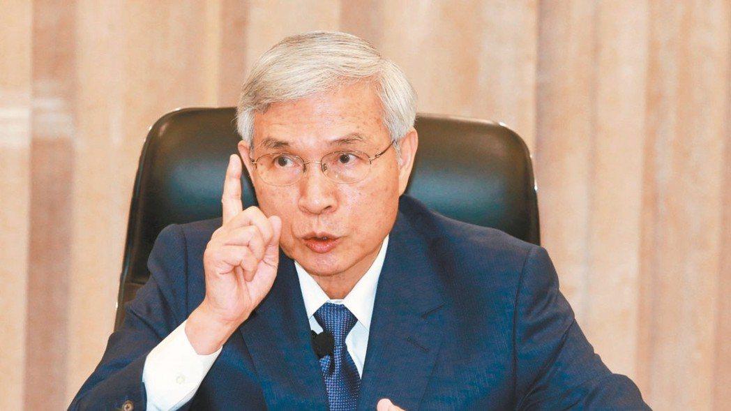 中央銀行總裁楊金龍。 報系資料照