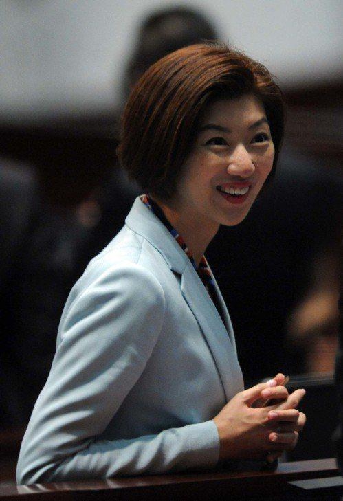 香港新民黨立法會議員容海恩。 中通社