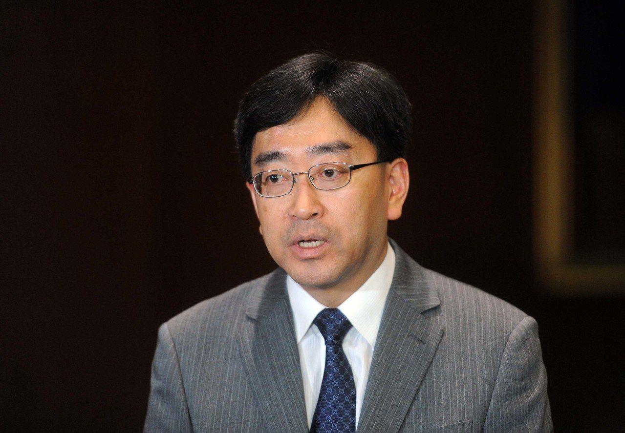香港食衛局前局長高永文。 中通社