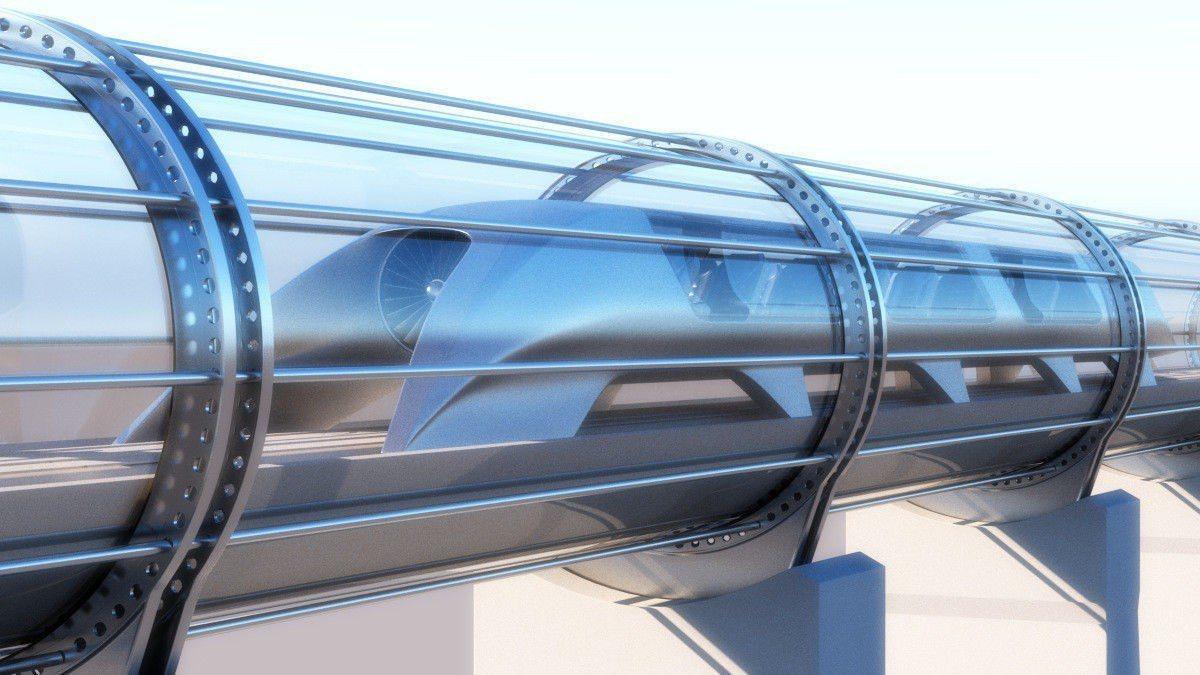 矽谷城市庫比蒂諾正在考慮興建這種管道飛車,用來解決交通擁塞。 世界日報記者邱鴻安...