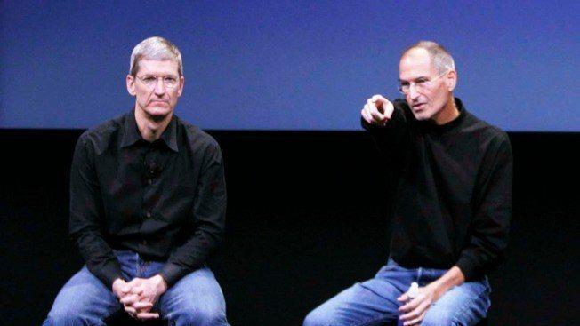 庫克在喬布斯去世後遭質疑能否帶領蘋果走出新局面。(美聯社)