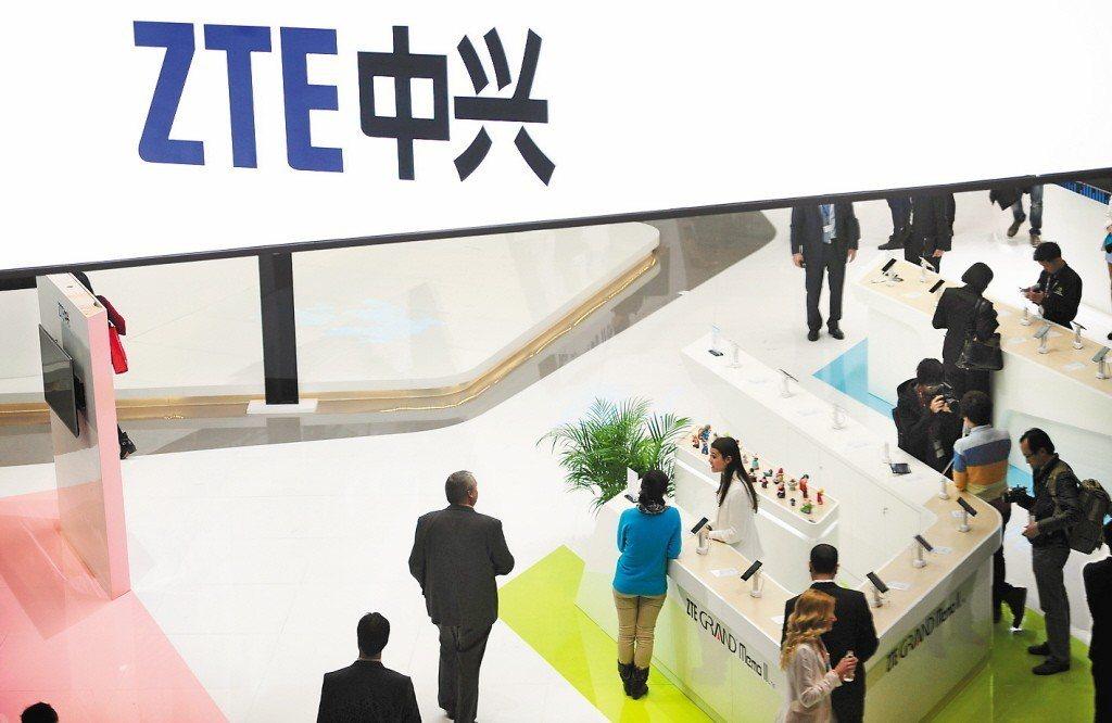 中國電信設備大廠中興通訊自今年4月以來,就被美方施以嚴厲制裁。 美聯社