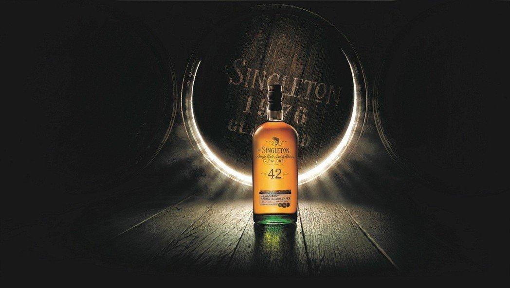 蘇格登窖藏系列42年原酒,台灣珍稀限量150瓶,建議售價NT$148,888元。...
