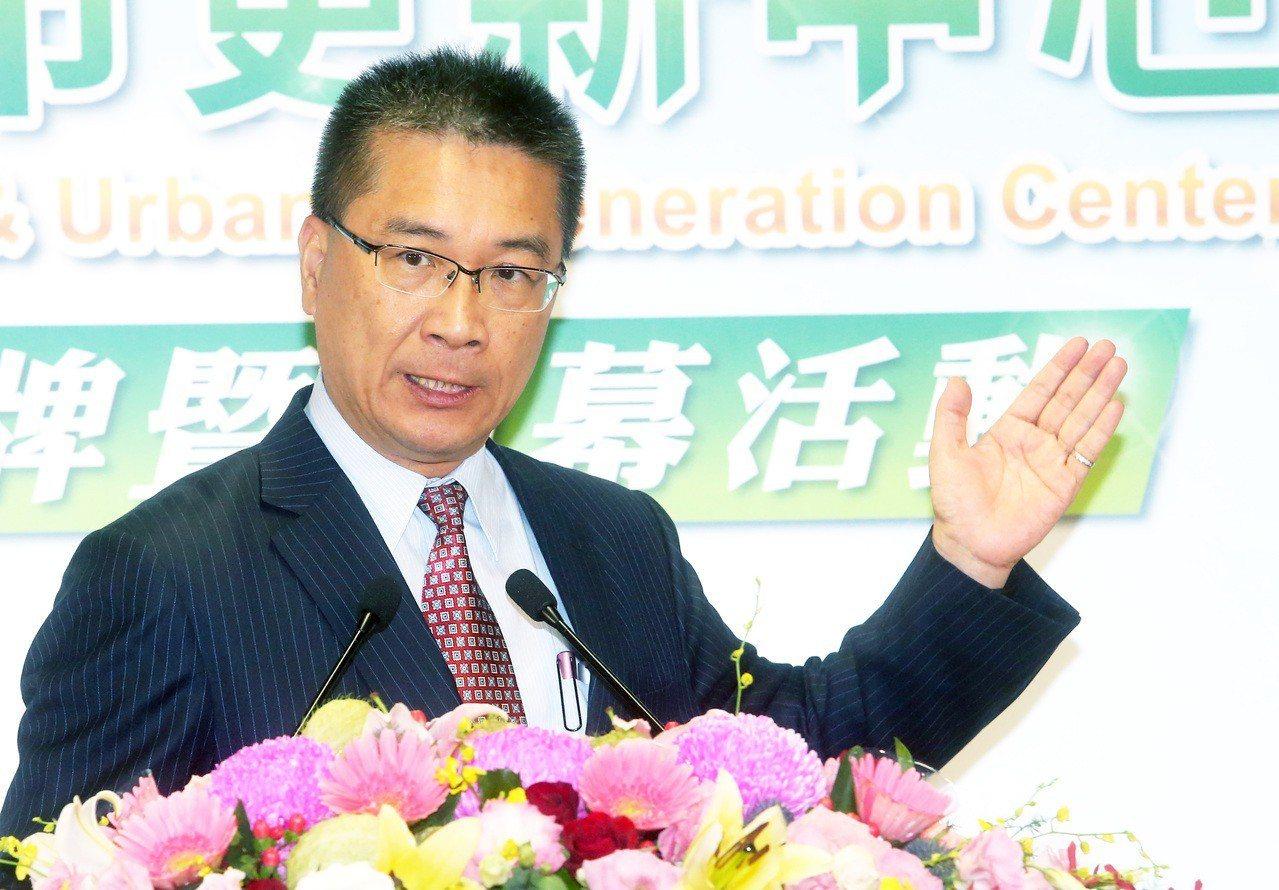 內政部長徐國勇。記者胡經周/攝影