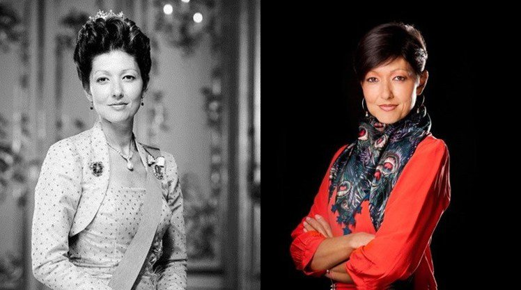 擁有華裔血統的前丹麥王妃文雅麗。圖/擷自pinterest