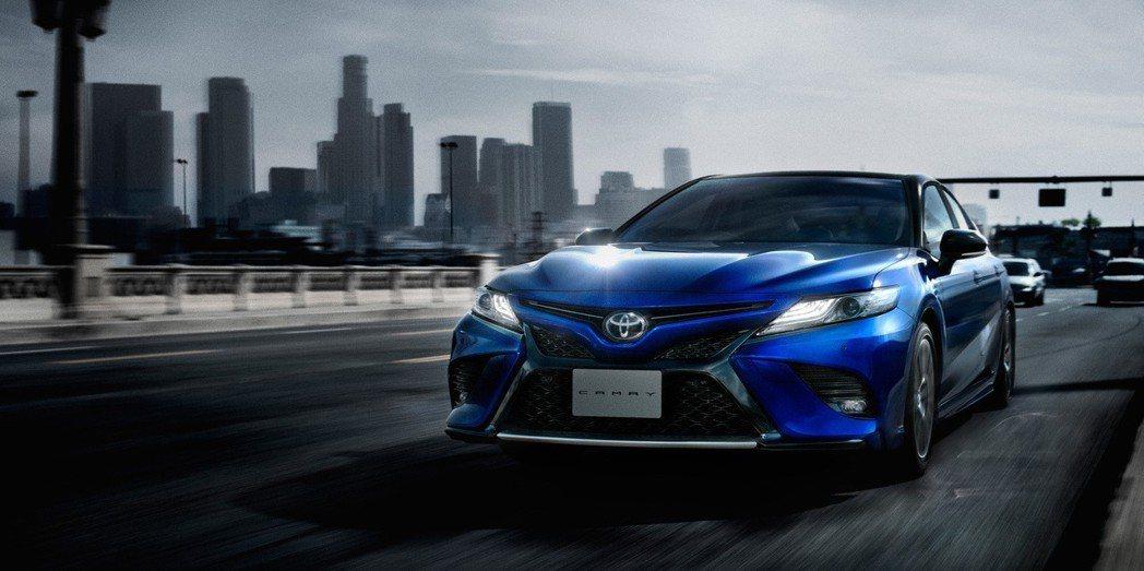 Toyota推出日規Camry WS運動化車型。 摘自Toyota