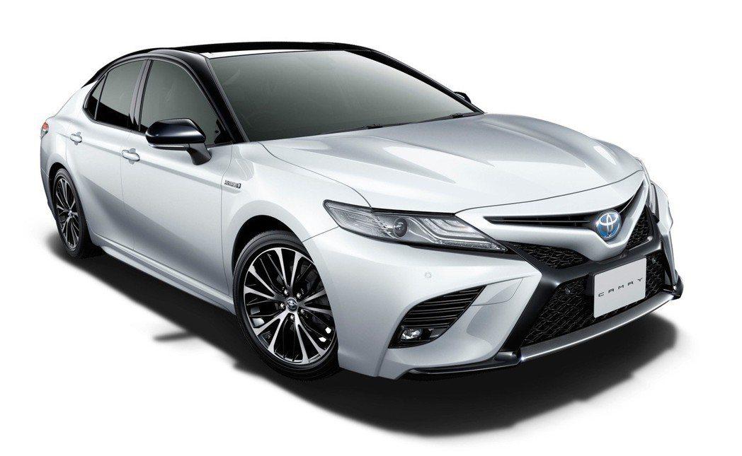 Toyota Camry WS(圖為WS皮革版)。 摘自Toyota