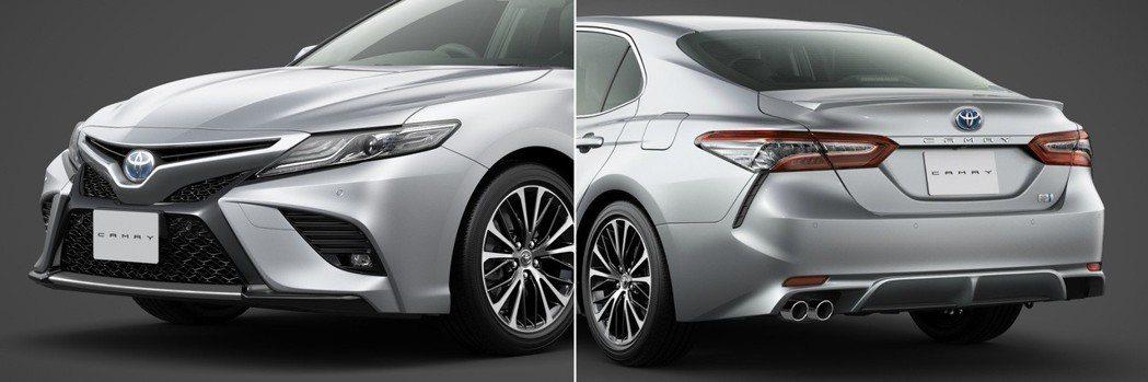 Camry WS在車頭與車尾皆換上年輕化的設計。 摘自Toyota