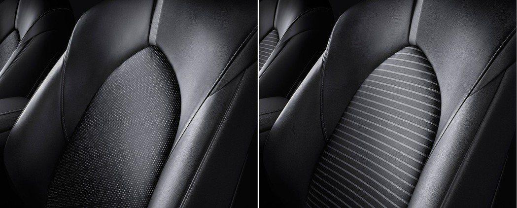 圖左為WS皮革版車型(真皮),圖右為WS車型(合成皮革)。 摘自Toyota