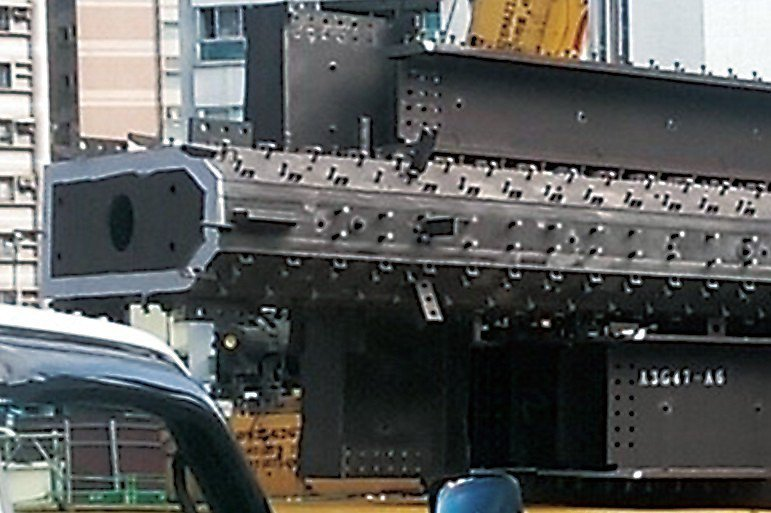 雙水灣SRC採用成本高、安全性最高的異形鋼材,僅少數個案會使用到同級的鋼材,利用...