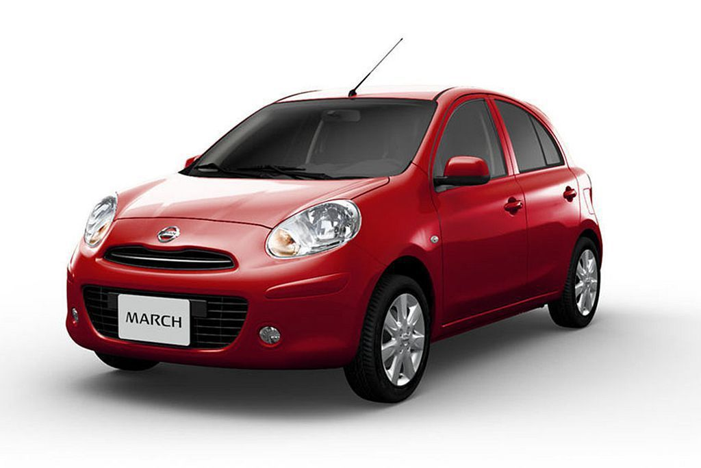 Nissan March。 圖/Nissan提供