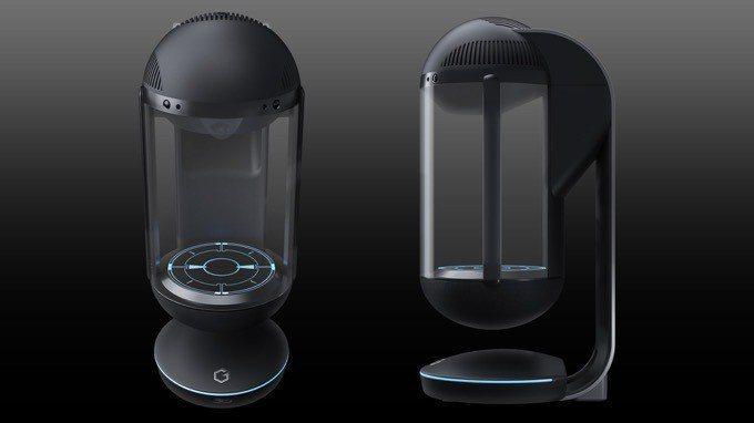 最新款Gatebox在硬體方面做了全面的改造與提升,外型更顯得簡約、流線,尺寸約...