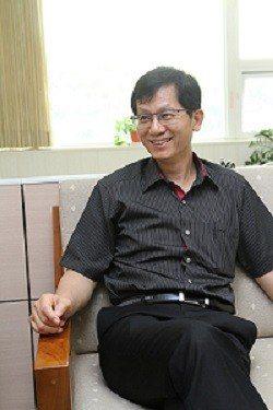 台南市經發局局長殷世熙。 張傑/攝影