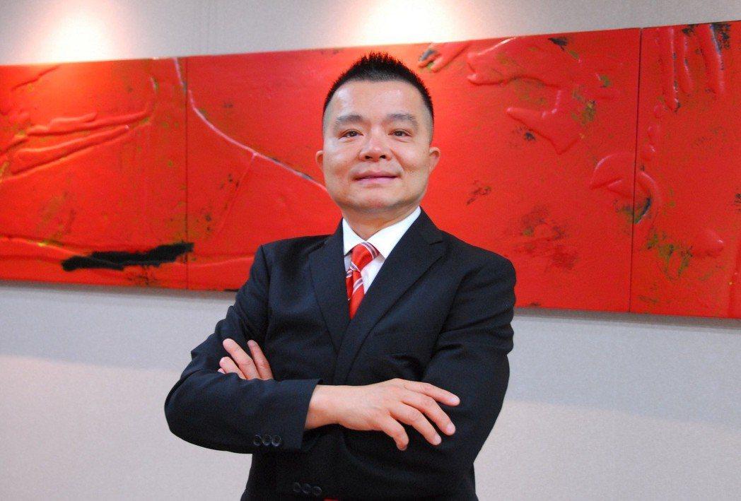 允強實業(2034)董事長張金鈺。 吳青常/攝影