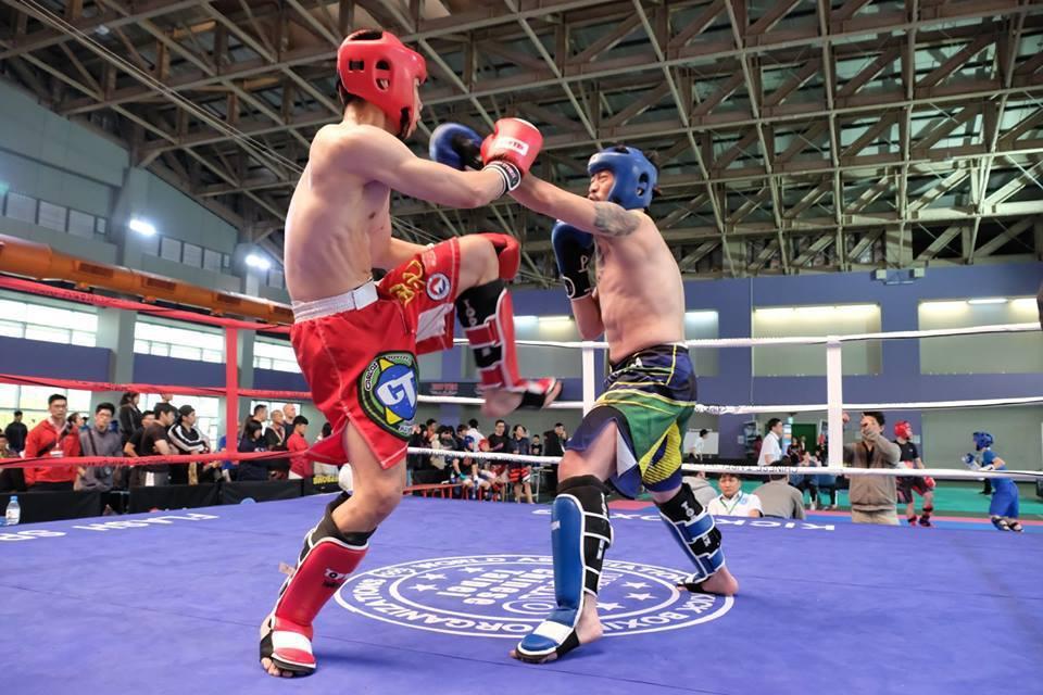踢拳道比賽。 主辦單位提供