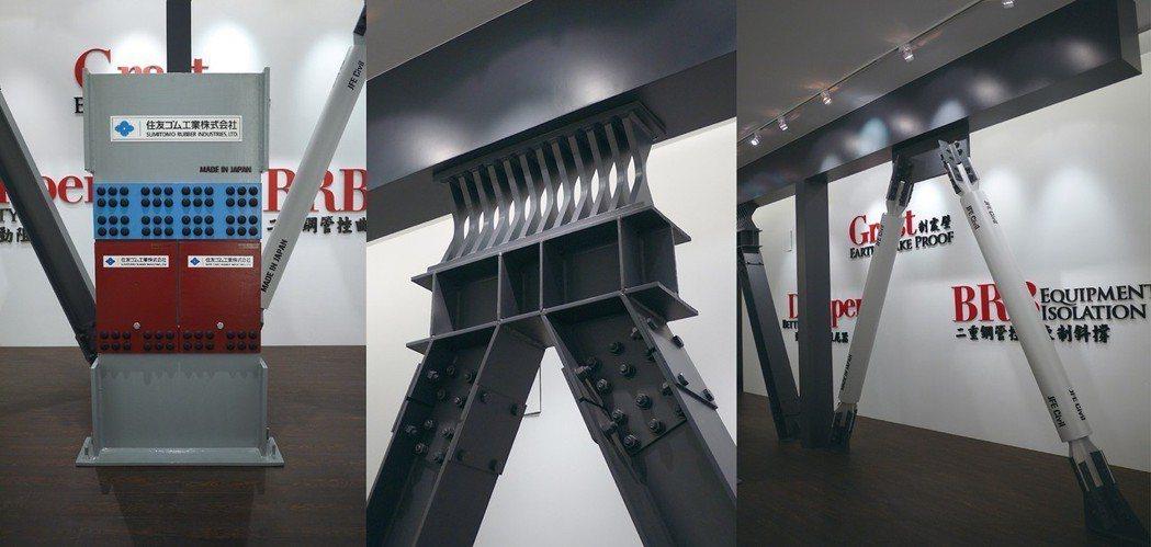 【泰舍-至善元】集合世界級三大制震系統,制震器裝設高達2/3層樓,耐震強度超越六...
