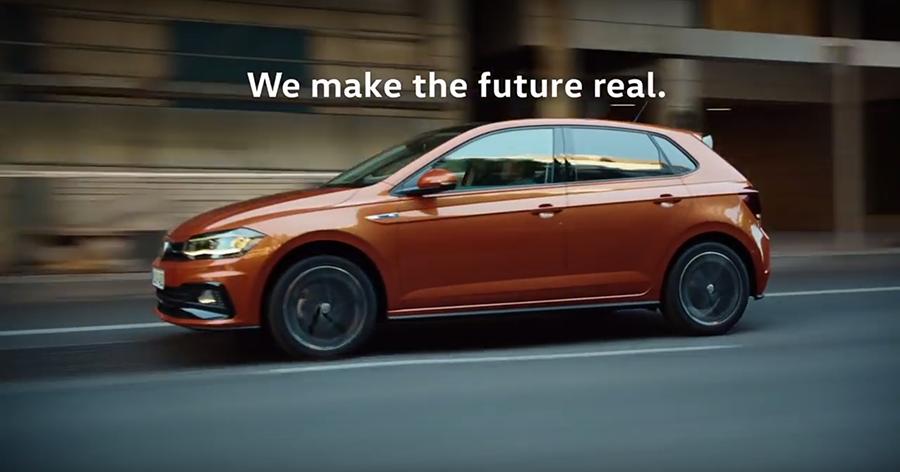 裁自Volkswagen影片