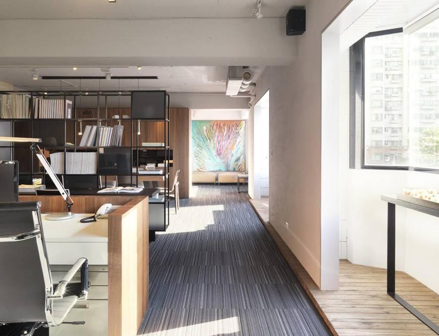 (圖)九號設計 辦公空間設計作品《空間本質-純粹》