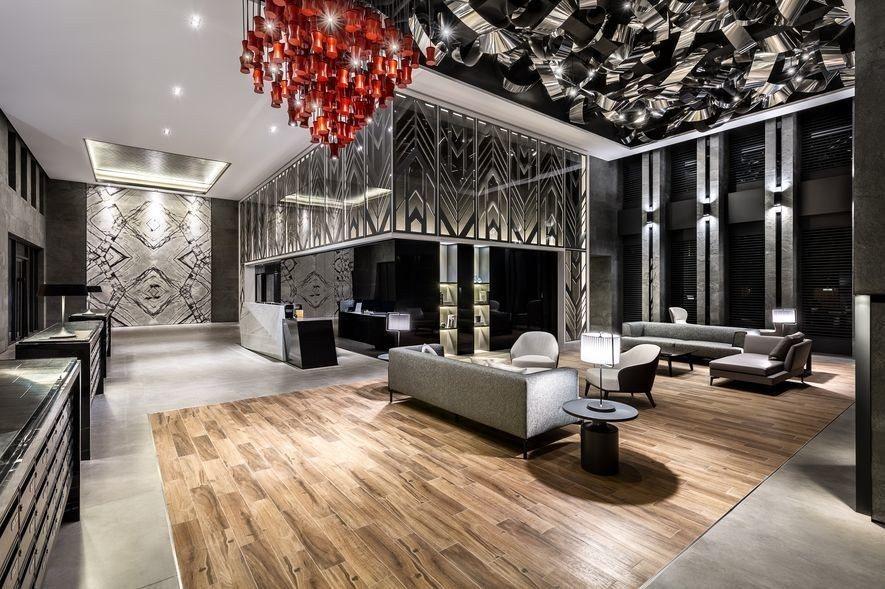 (圖)九號設計 公設大廳設計作品《重回美好時代》