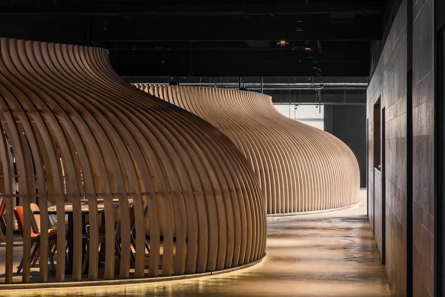 (圖)九號設計 餐飲空間設計作品《食,在自然》