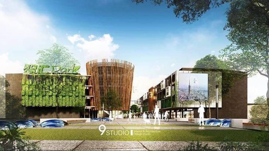 (圖)九號設計 商業空間設計作品 《生態智慧園區老建改造計畫》
