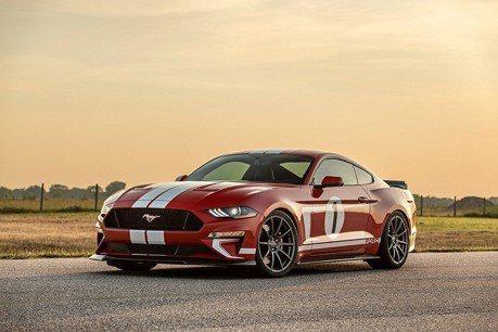 (影音) 808匹馬力Hennessey Mustang改裝車 很適合當情人節禮物!