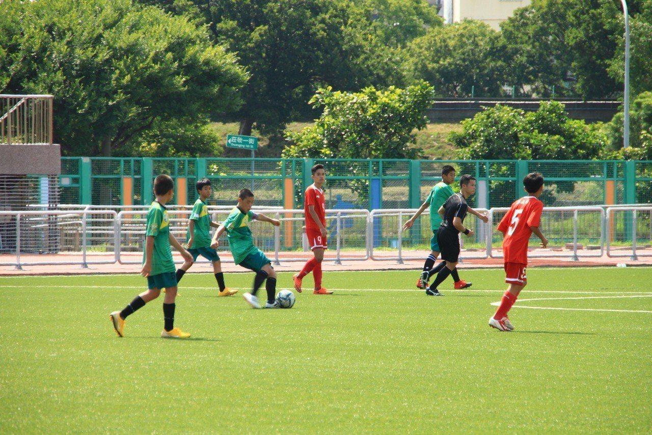 這次比賽從8月1日起到6日,國中U15組率先比賽。記者郭政芬/攝影