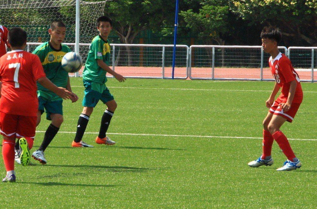 中華民國足球協會在新竹縣舉辦足球城市對抗賽。記者郭政芬/攝影