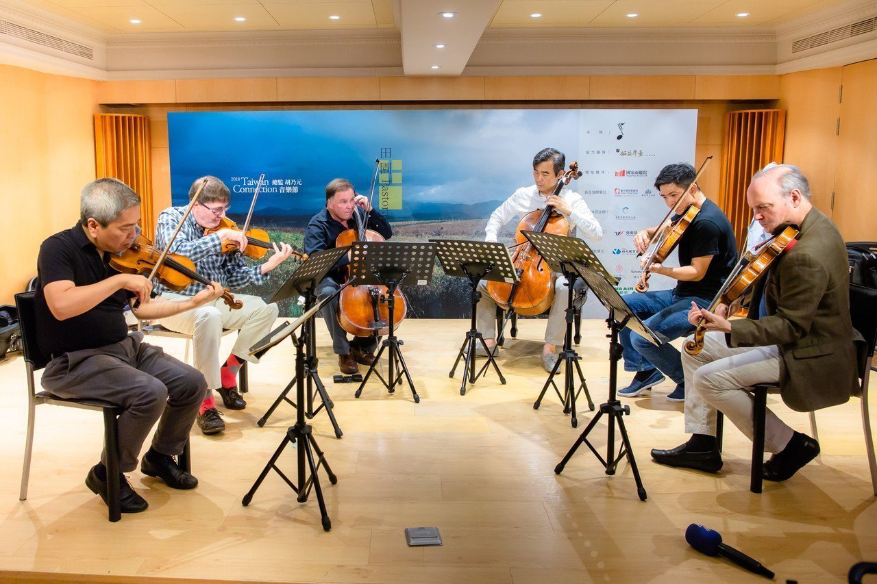 2018TC音樂節首度邀請來自不同國家的六位優秀室內樂名家攜手演出。圖/TC提供