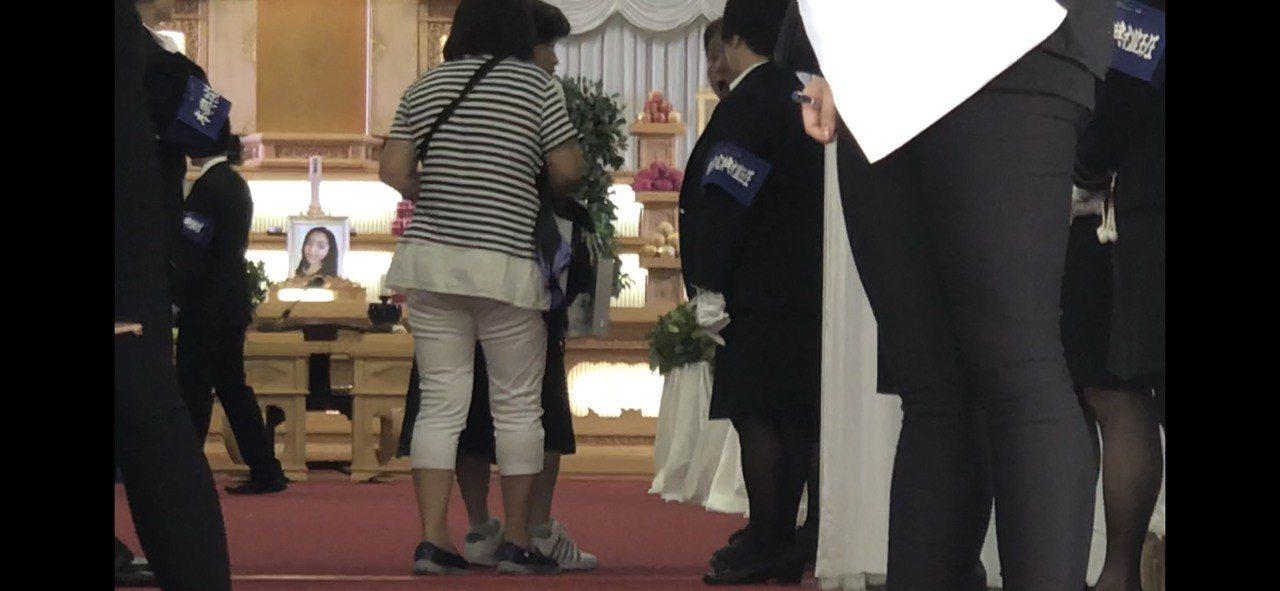 超跑車禍案,肇事者游瀚甯女友劉映采身亡,今天舉辦告別式。記者李承穎/攝影