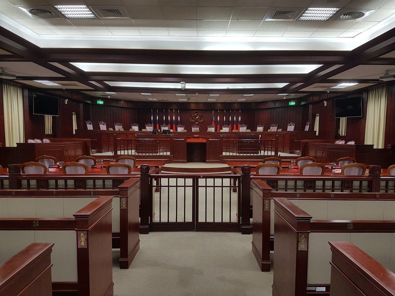 憲法法庭。記者王宏舜/攝影