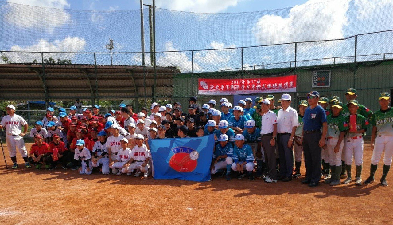 2018年第18屆泛太平洋國際青少年軟式棒球邀請賽連續4年在台灣舉行。圖/學生棒...