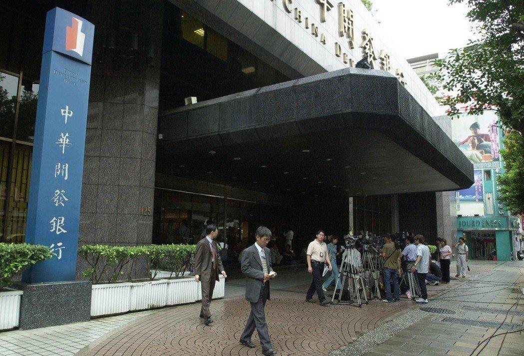 中華開發資產管理股份有限公司大樓。圖/報系資料照