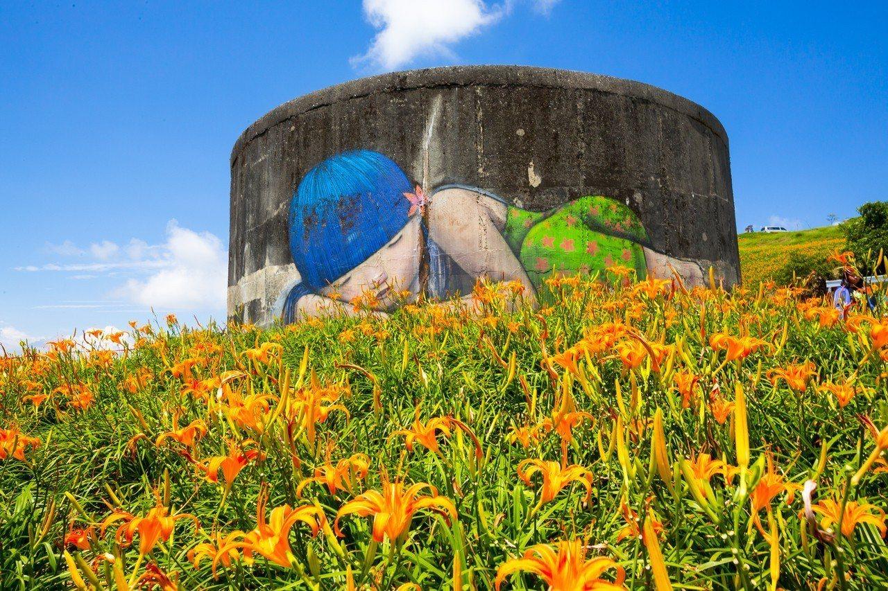 花蓮金針花正式進入花季。圖/富里鄉農會提供