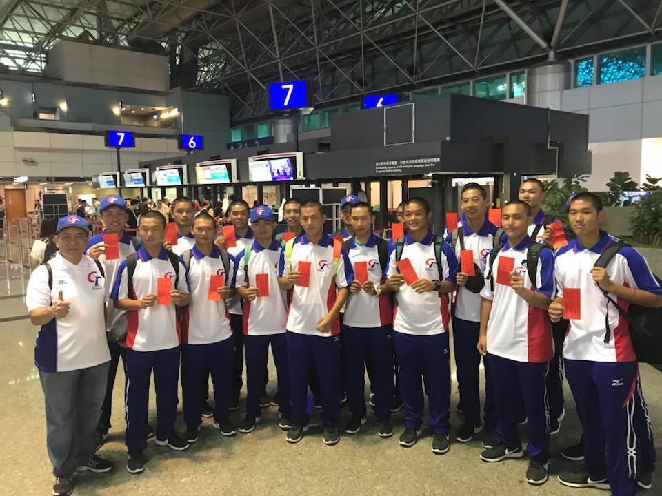 以平鎮高中為代表的中華青棒代表隊,參與美國小馬聯盟青棒賽。圖/取自平鎮高中粉絲團